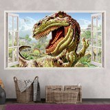 Wandtattoos: Panorama Dinosaur 3