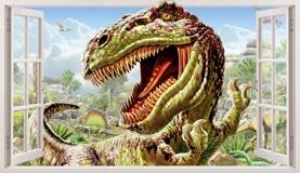 Wandtattoos: Panorama Dinosaur 5