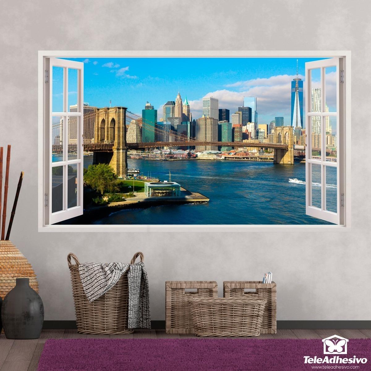 Künstlerisch New York Wandtattoo Ideen Von Wandtattoos: Übersicht über Skyline