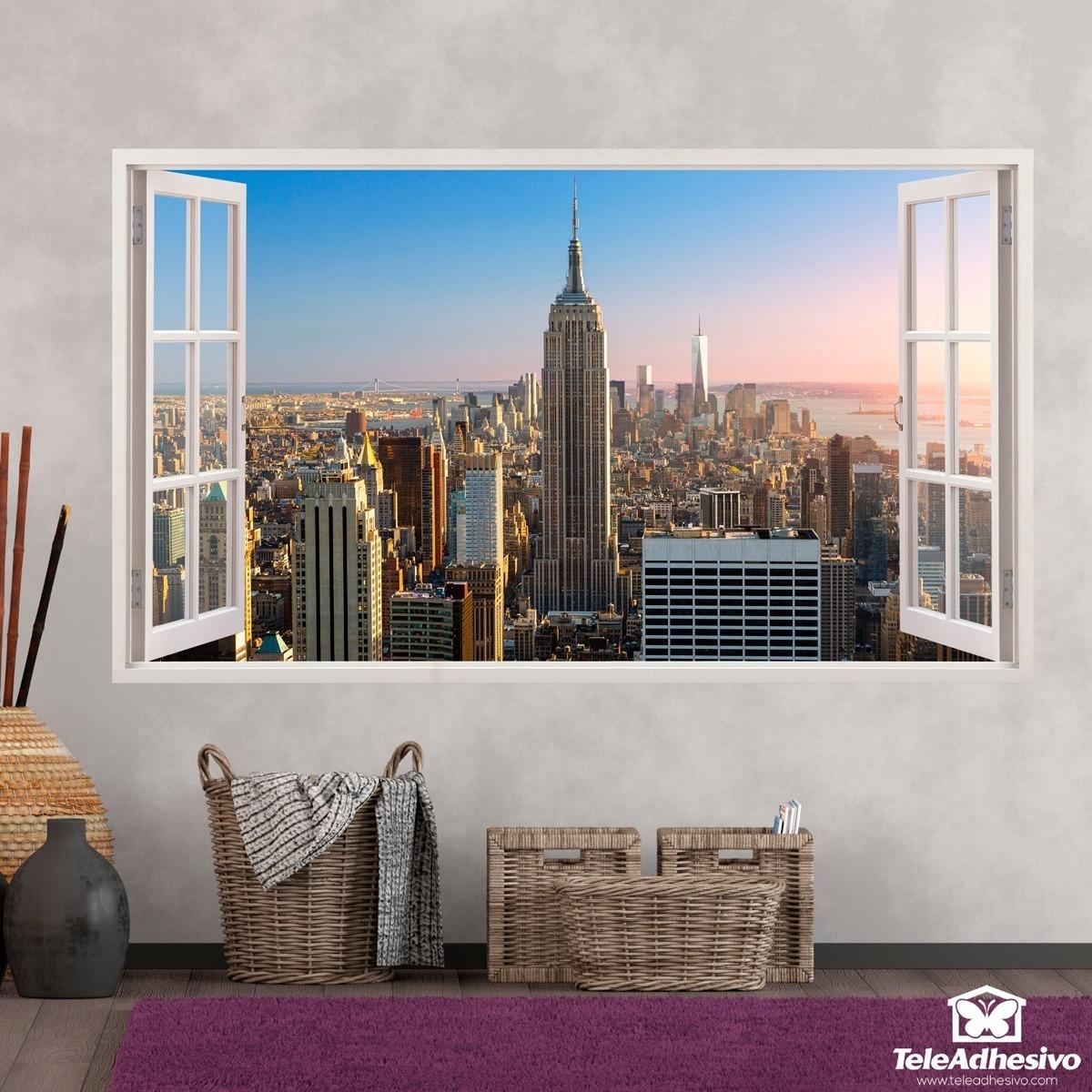 Wandtattoos: Übersicht über New York 3