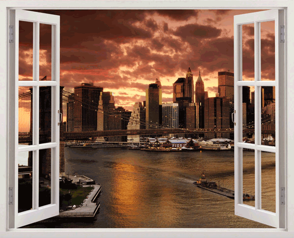 Wandtattoos: Manhattanhenge