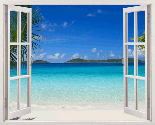 Kunststoff 3D Fenster Ipanema