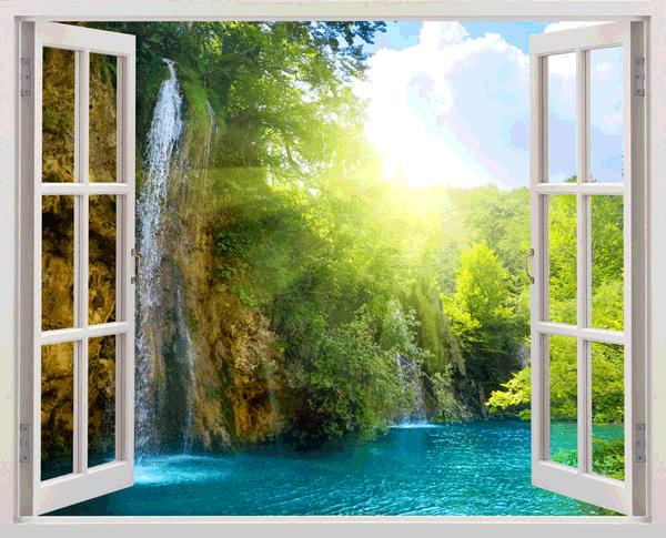 Wandtattoos: Paradies