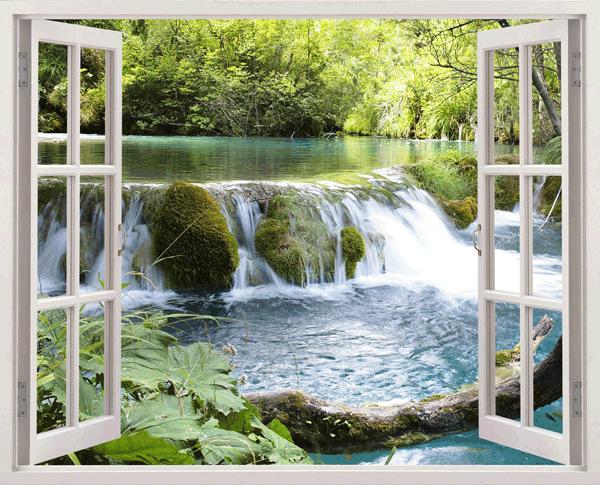Wandtattoos: Waterfall