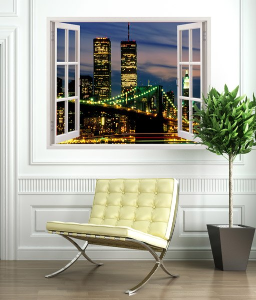 Wandtattoos: Twin Towers