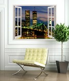 Wandtattoos: Twin Towers 3