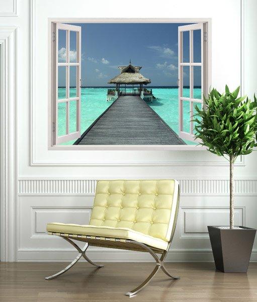 Wandtattoos: Relax at sea
