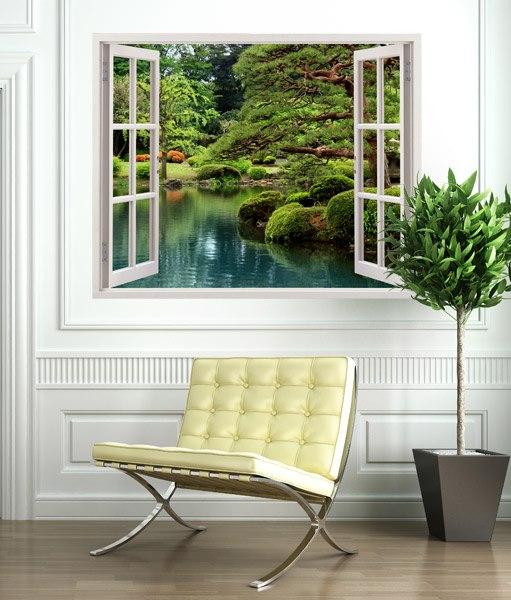 Wandtattoos: Zen Garden