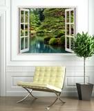 Wandtattoos: Zen Garden 3