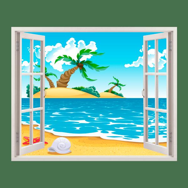 Kinderzimmer Wandtattoo: Lost Island
