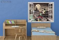 Kinderzimmer Wandtattoo: magische Nacht 3