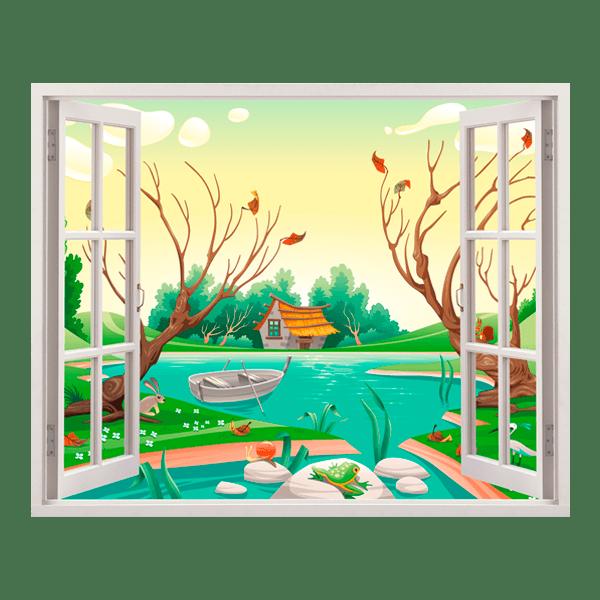 Kinderzimmer Wandtattoo: See