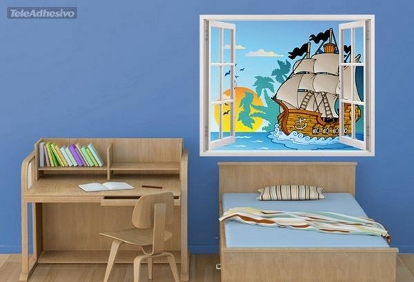 Kinderzimmer Wandtattoo: Piraten