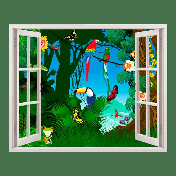 Kinderzimmer Wandtattoo: Dschungel
