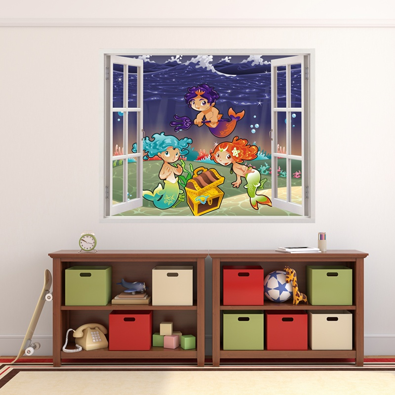 Kinderzimmer Wandtattoo: Sirens of the Sea