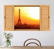 Wandtattoos: Eiffelturm 3