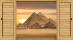 Wandtattoos: Pyramiden 2