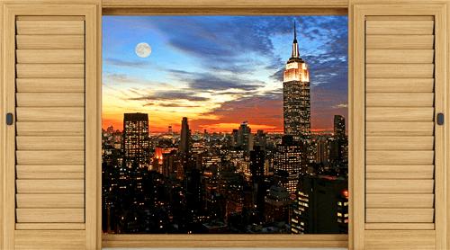 Wandtattoos: Nacht in New York