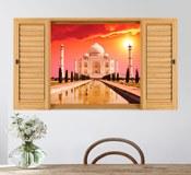 Wandtattoos: Taj Mahal 3