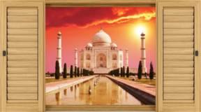 Wandtattoos: Taj Mahal 4