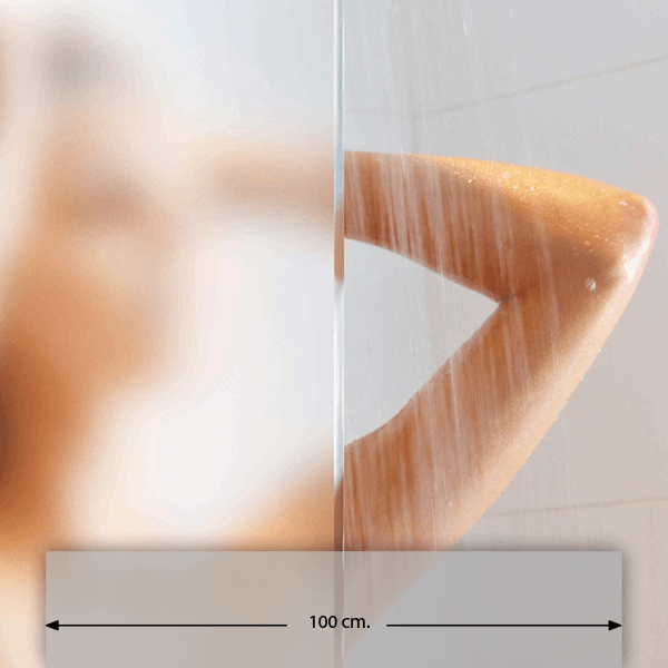 Wandtattoos: Klebefolie für Glasflächen 100cm