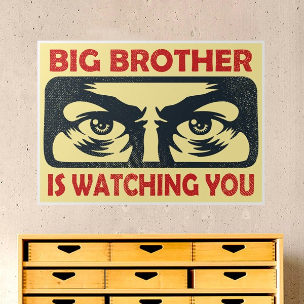 Wandtattoos: Big brother is watching you