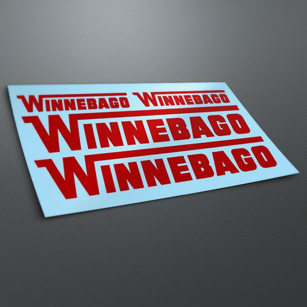 Aufkleber: Kit Winnebago