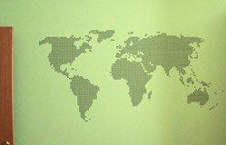 Wandtattoos: worldpoint 3