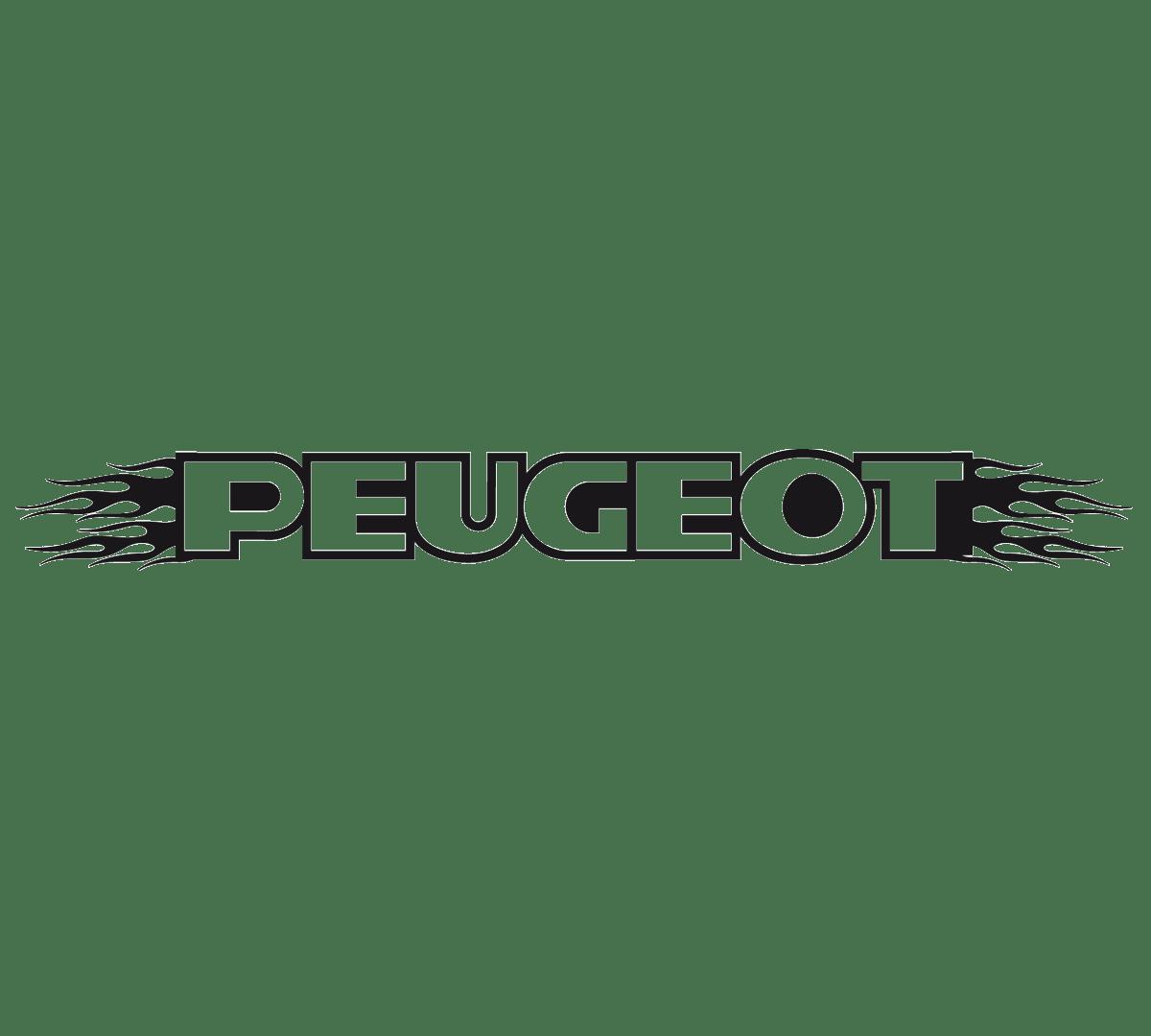 Aufkleber: Parasol Peugeot