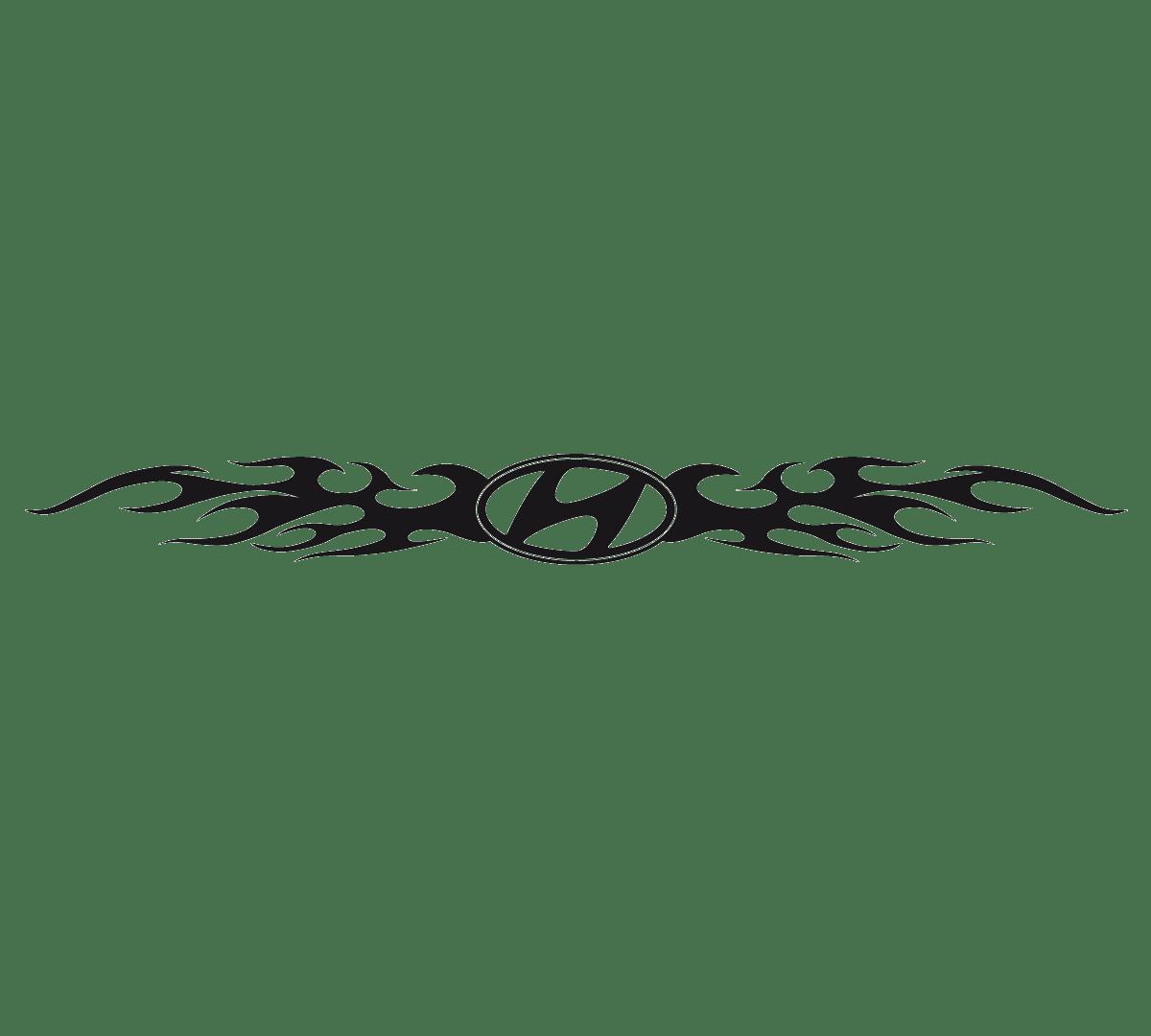 Aufkleber: Parasol Logo Hyundai
