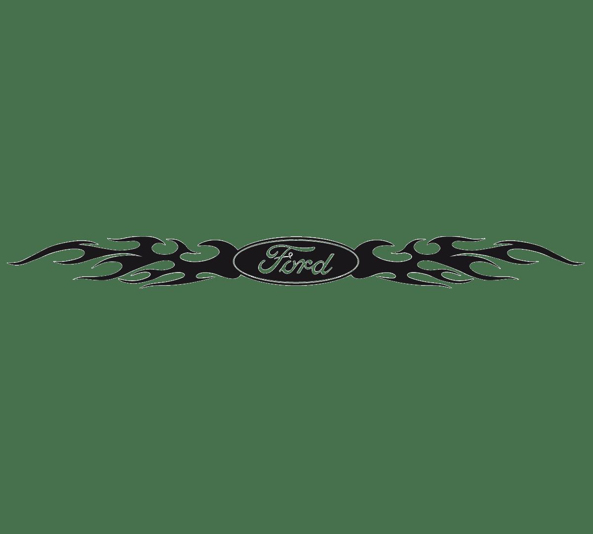 Aufkleber: Parasol Ford Logo