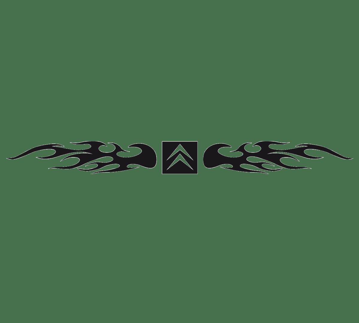 Aufkleber: Parasol Citroen Logo