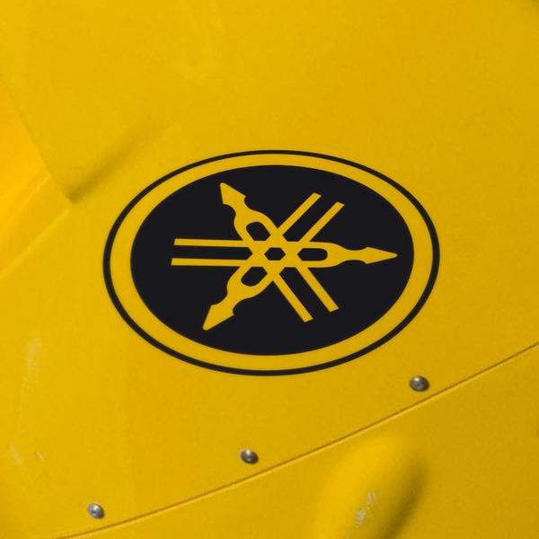 Aufkleber Yamaha Motor Logo Vii Webwandtattoocom