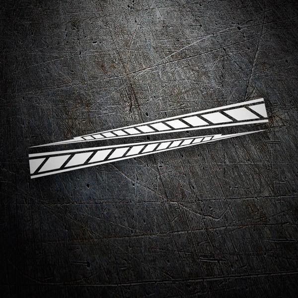 Aufkleber Yamaha M1 Stripes