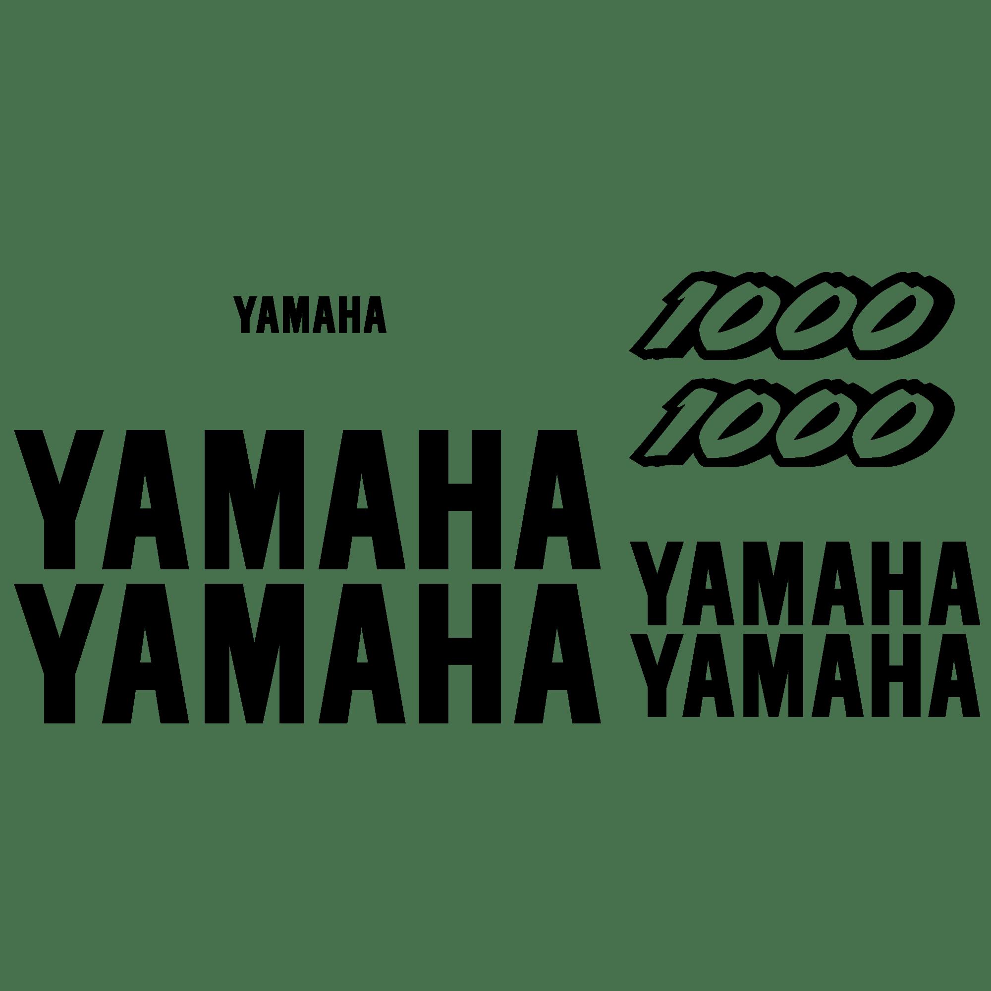 Aufkleber: YZF 1000 1997