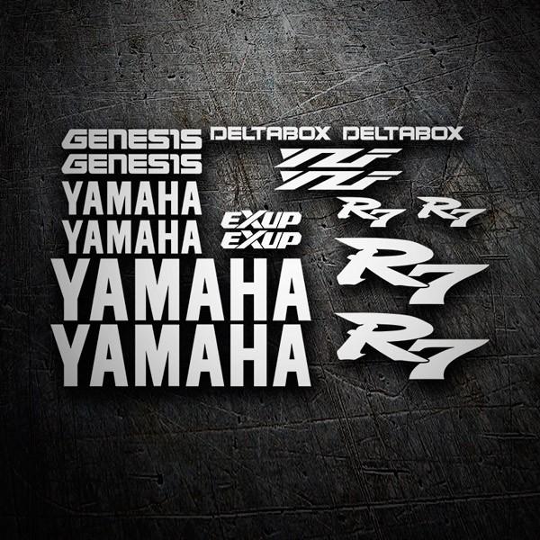 aufkleber kit yamaha yzf r7. Black Bedroom Furniture Sets. Home Design Ideas