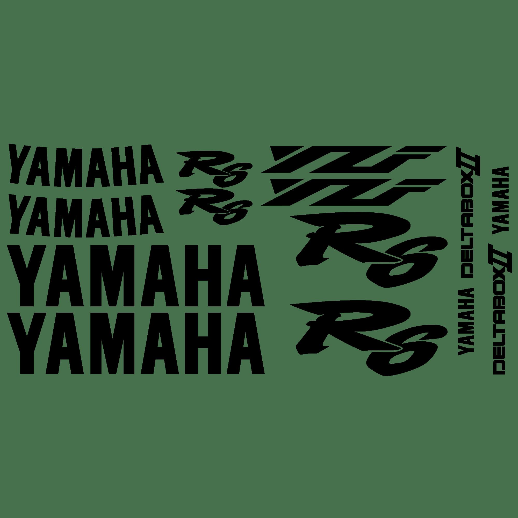 Aufkleber: YZF R6 2000 II