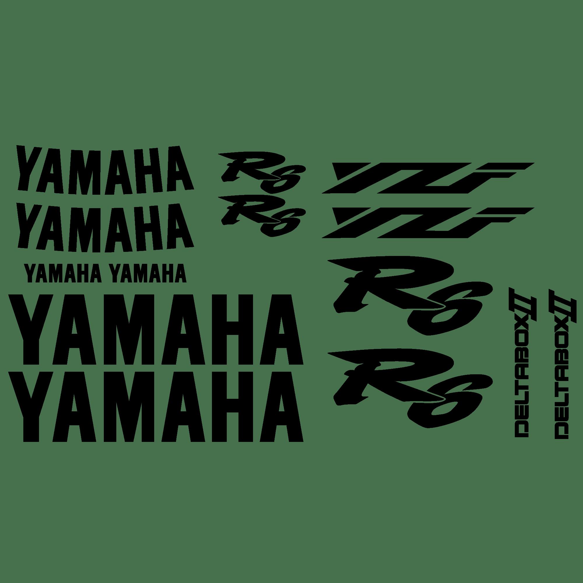 Aufkleber: YZF R6 2001