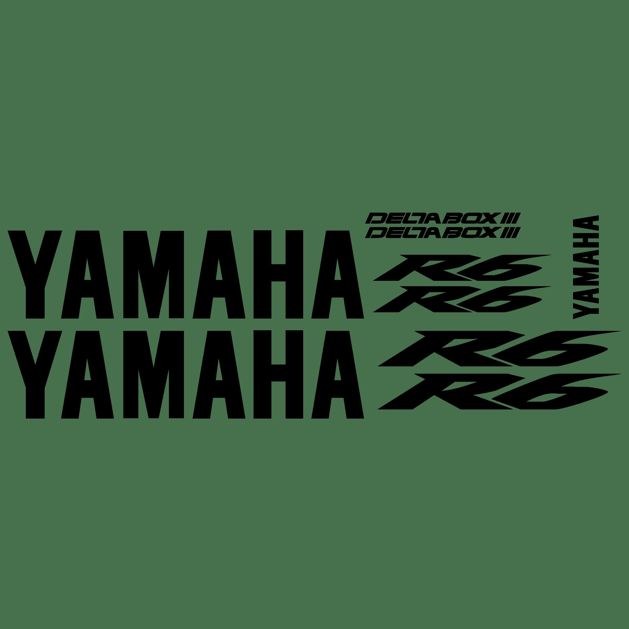 Aufkleber: YZF R6 2004