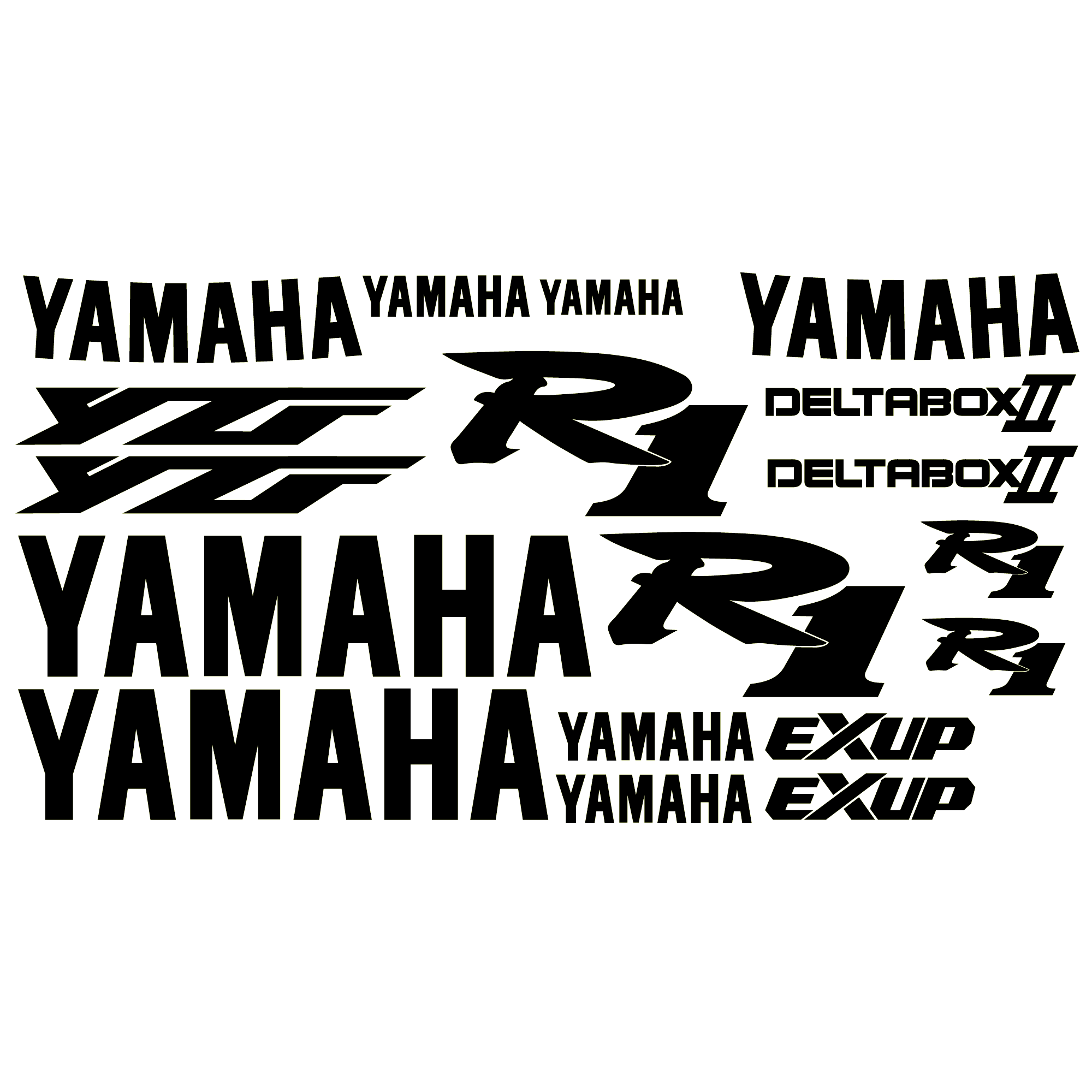 Aufkleber: YZF R1 1999