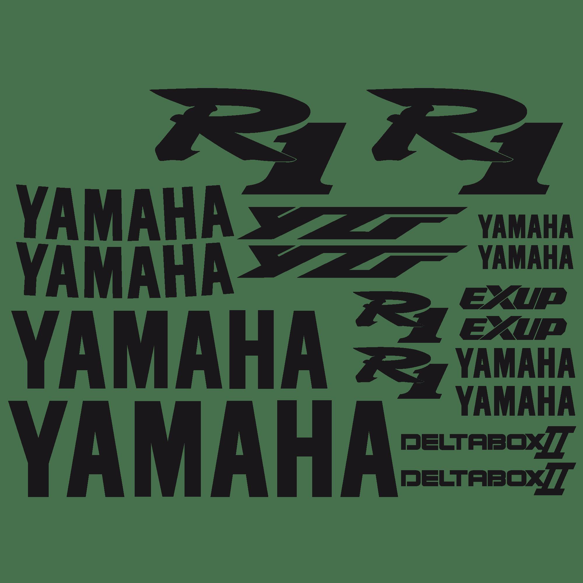 Aufkleber: YZF R1 2000