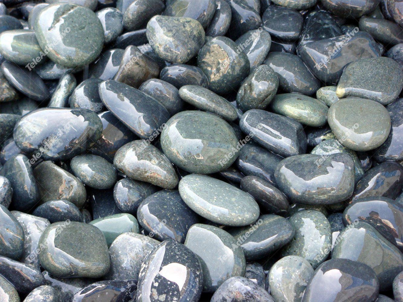 Fototapeten: Piedras mojadas