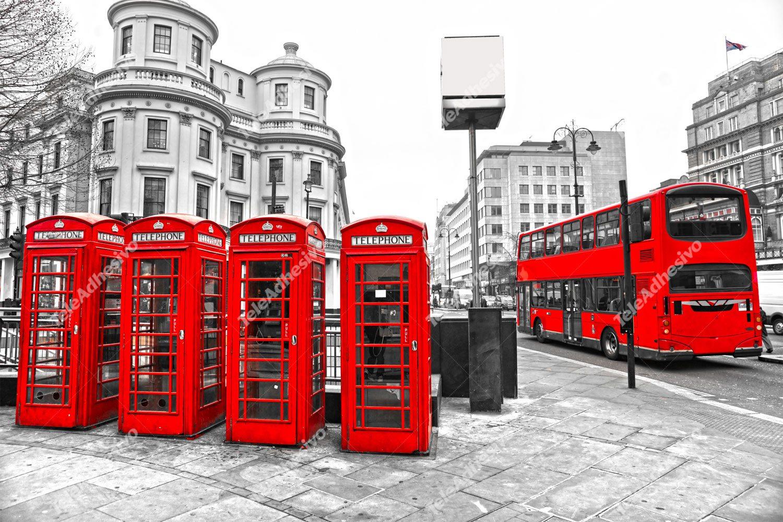 Fototapeten: London in Red