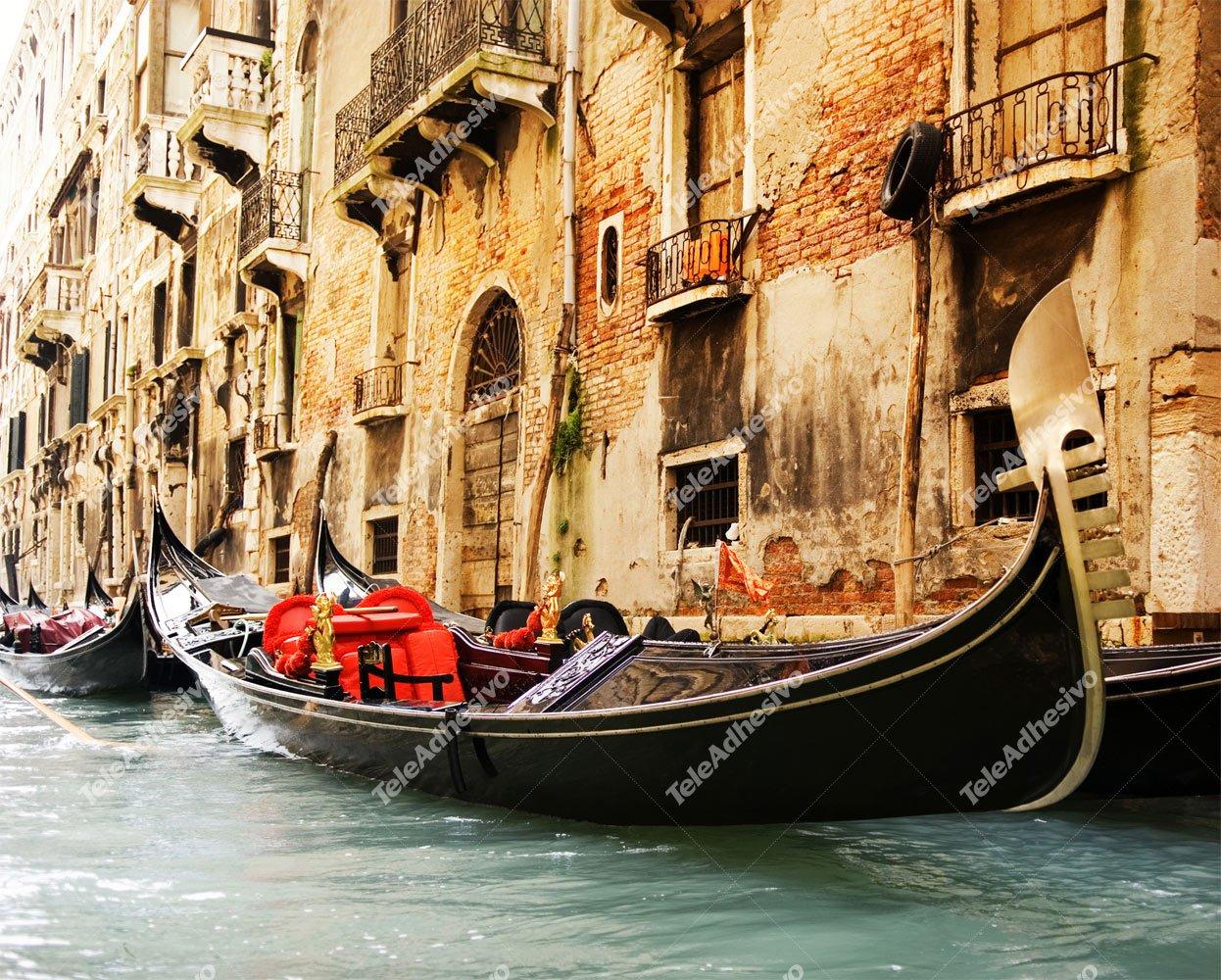 Fototapeten: Venedig Gondel