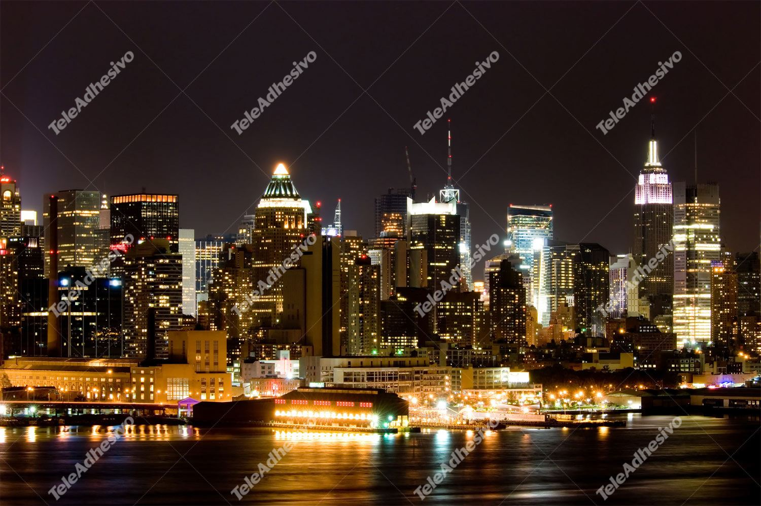 Fototapeten: New York Night I