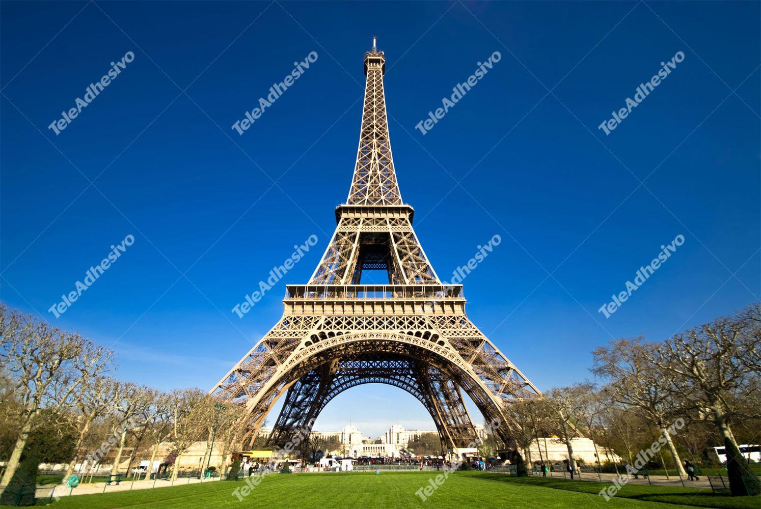 Fototapeten: Eiffel 3