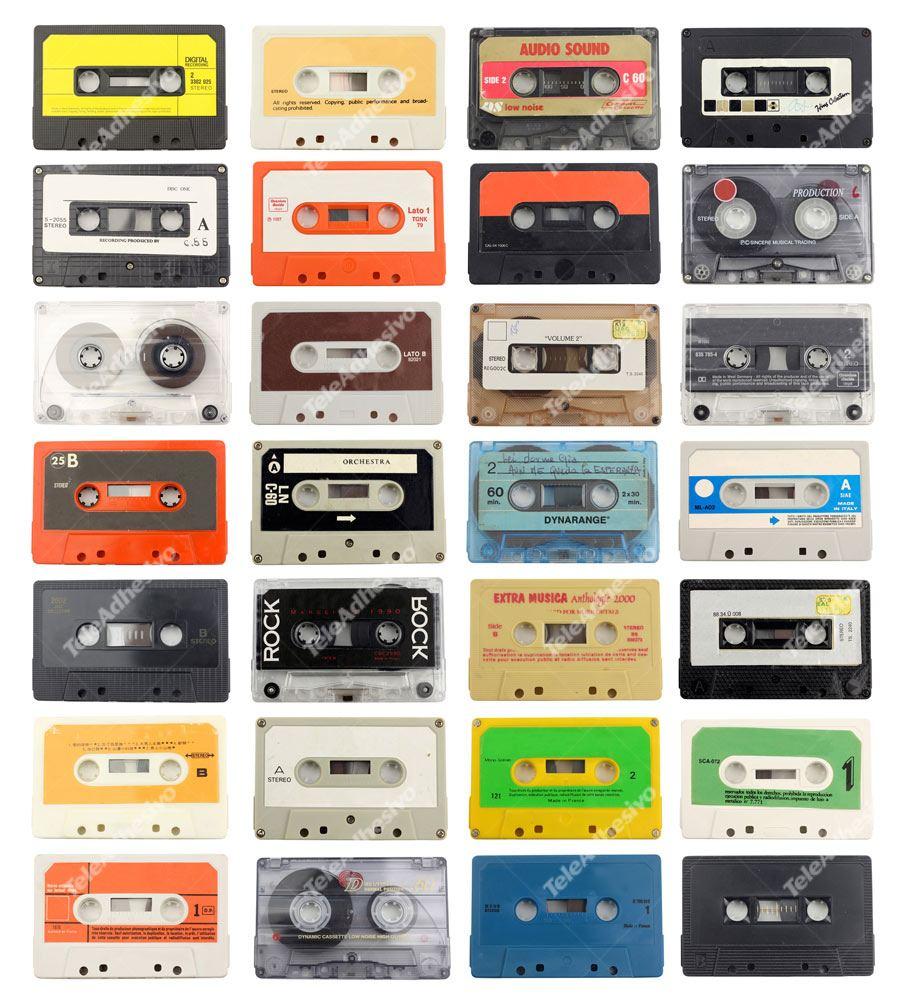 Fototapeten: cassette