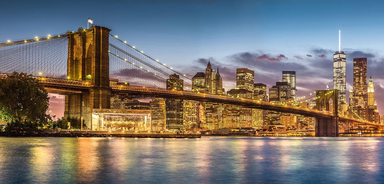 Fototapeten: Brooklyn Nigth