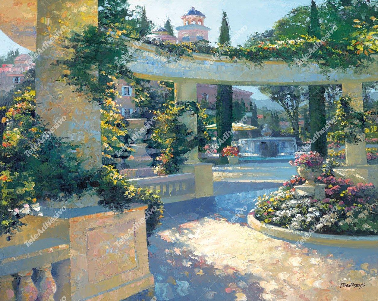 Fototapeten: Garten Bellagio