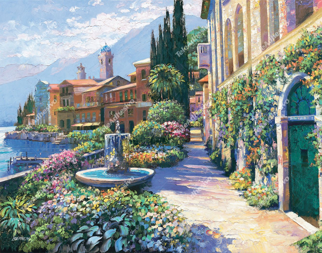 Fototapeten: Splendor of Italy (Howard Behrens)